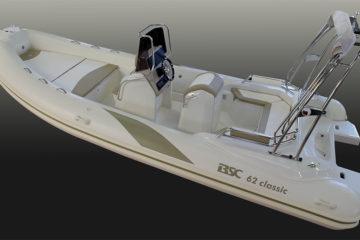 Nautica, il BSC 62 Classic. Un gommone pratico ed elegante