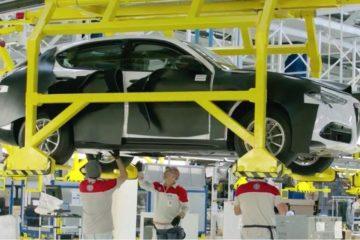 E' pronto il nuovo suv Alfa Romeo Stelvio. Ecco le immagini da Cassino