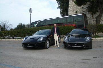 Al volante di un mito. Test drive con la Ferrari California