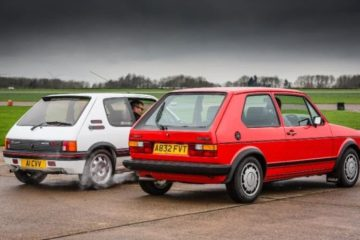 Due miti intramontabili, Golf e Peugeot 205 GTI