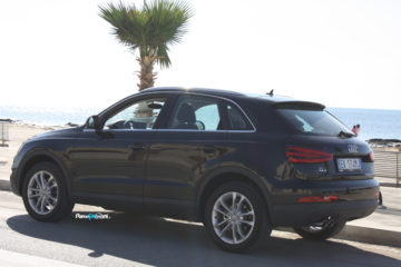 Test drive con l'Audi Q3