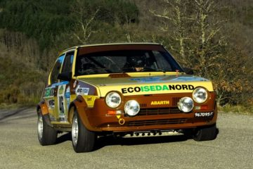 Hystoric Rally, ha preso il via in Toscana la Coppa Abarth Classic