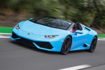 La Lamborghini Huracan Spyder è  Car Of The Year 2017