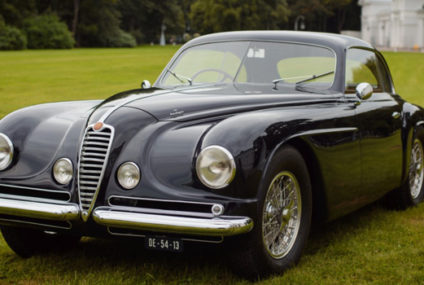 Raduno a Villa d'Este per le Alfa Romeo 6C 2500SS
