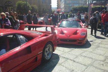 Le Ferrari alla Targa Florio. La fotogallery di Motoriedintorni