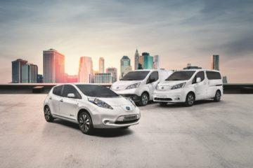Nissan è leader del mercato elettrico in Italia con la Leaf e l'e-NV200