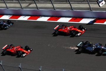 Super Bottas in Russia. Il finlandese vince davanti a una Ferrari quasi perfetta. Vettel 2°, Raikkonen 3°