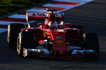 Ferrari e Vettel in pole al GP di Russia. Prima fila completata da Kimi Raikkonen