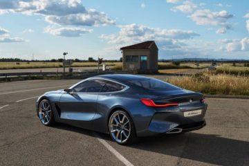 BMW Serie 8 Concept, il prototipo che anticipa stile e forme della futura Serie 8 Coupè