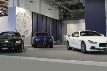 Maserati presente al Salone di Barcellona con i modelli 2017 di Ghibli, Quattroporte e Levante
