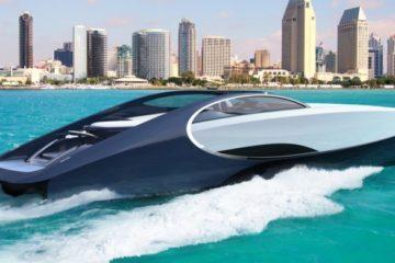 Bugatti entra nella nautica. Arriva Niniette 66, lo yacht ispirato alla Chiron