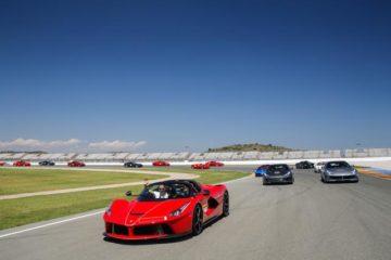 A Valencia il Ferrari Day per festeggiare i 70 anni del Cavallino Rampante