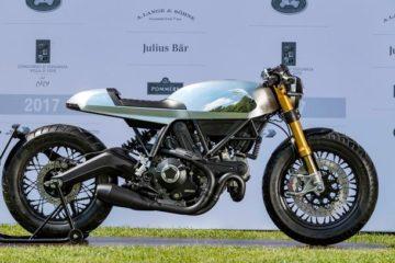 Ducati vince due premi al Concorso d'Eleganza Villa d'Este con la Cafè Racer