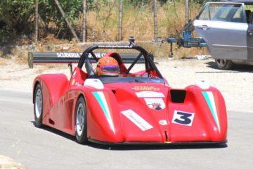 Nicolò Incammisa vince il 3° Autoslalom Città di Sant'Angelo Muxaro