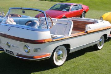 """La """"spiaggina"""". Dalla 500 Jolly alla Michelotti Shellette. Le auto delle vacanze"""