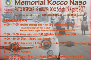 """Ad Erice il 5° Raduno Fiat 500 Memorial """"Rocco Naso"""""""