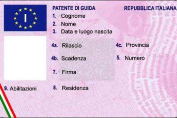 Patenti di guida, l'Unione Europea chiede all'Italia il rispetto delle norme comunitarie