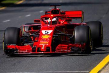 F1, a Melbourne vince la Ferrari di Vettel davanti a Hamilton. Terzo Raikkonen