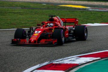 Qualifiche Gp Cina, Vettel in pole. Prima fila tutta Rossa con Raikkonen