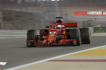 SuperVettel in Bahrain. Sul podio le due Mercedes di Bottas e Hamilton. Ferito un meccanico Ferrari