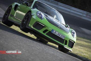 Porsche e Nurburgring, è ancora record per la nuova GT3 RS