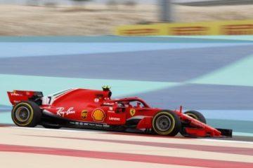 GP del Bahrain,  Iceman c'è. La Ferrari di Raikkonen davanti  a tutti anche nelle libere 3