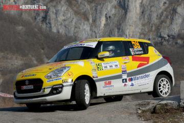 Al 65° Rally di Sanremo il secondo round del Suzuki Rally Trophy 2018