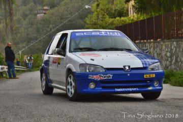 Rally dei Nebrodi, gara postiva per la scuderia di casa. Quattro piloti a podio