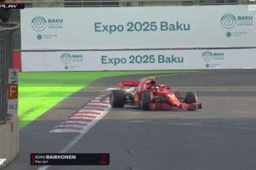 GP Azerbaijan. Pole di Vettel davanti a Hamilton e Bottas. Solo sesto Raikkonen