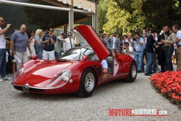 L'Alfa Romeo 33/2 Stradale vince la Coppa D'Oro al Concorso d'Eleganza Villa d'Este
