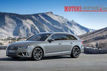 Debutta il modello 2019 dell'Audi A4 e A4 Avant