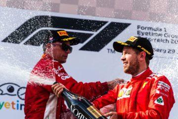Austrian GP, secondo e terzo posto Ferrari. Le parole di Arrivabene, Raikkonen e Vettel