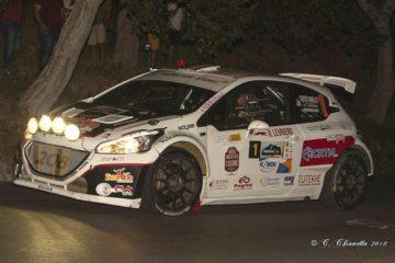Al via il 1° Himera Rally. Totò Riolo leader della classifica provvisoria