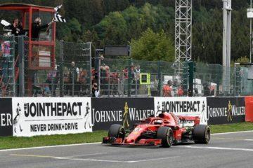 Vettel e la Ferrari dominano a Spa davanti ad Hamilton e Verstappen