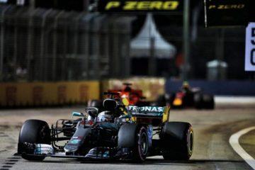 Hamilton domina il GP di Singapore e si avvicina al quinto titolo mondiale