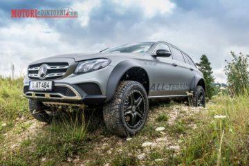 Arriva in Italia la nuova e incredibile Mercedes All Terrain 4×4