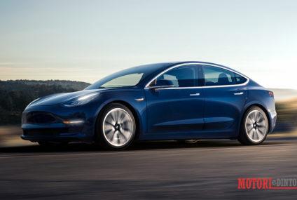 Auto elettriche, arriva in Italia la nuova Tesla Model 3
