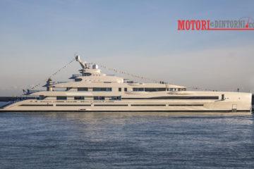 Varato il Benetti FB 277, lo yacht più grande mai costruito in Italia