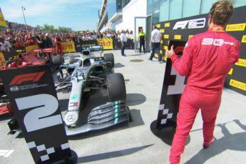 Gp del Canada, Hamilton vince ma è arrivato secondo al traguardo dietro Vettel…