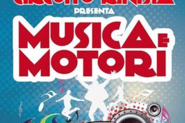 """Giovedì 22 agosto """"Musica e Motori"""" al circuito di kinisia"""
