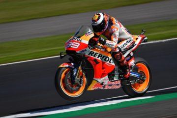 Qualifiche MotoGp: Marquez un caiamano, Rossi 2° e Miller 3. Dovizioso 7°