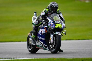 MotoGp a Silverstone, Quartararò piega Marquez nelle libere. Vinales 3°, Rossi 4°