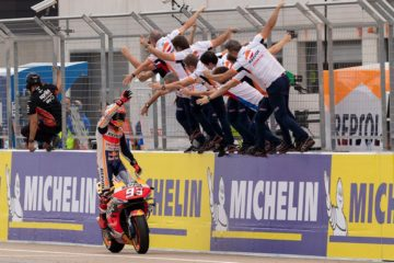 MotoGp, ad Aragon con un Marquez così non c'è scampo. Ma la Ducati ritrova Dovi e un grande Miller