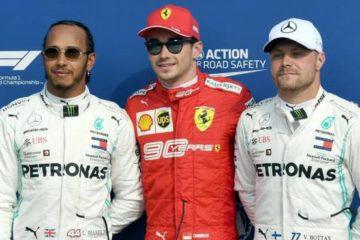 """Gp di Monza, Leclerc e la Ferrari in pole. Ma più che una qualifica di F1 """"sembra una gara di ciclismo"""""""