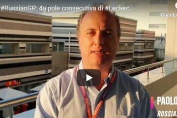 Gp di Russia a Sochi, la pole di Leclerc e le strategie di gara nel commento di Paolo Filisetti