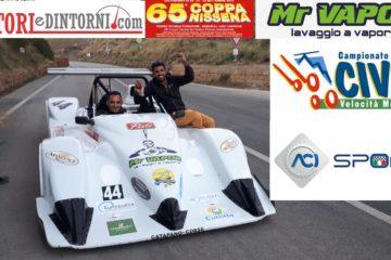 65^ Coppa Nissena, Salvatore Micciché primo in CN2000. Giuseppe Vacca 11°assoluto in gara 2