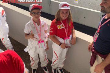 Formula 1, a Monza due bimbi marsalesi tra i 22 grid kids selezionati dal campionato italiano kart