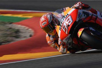 MotoGp ad Aragon: Marquez ancora in pole, ma si diverte ancora? Quartararo 2°, e Vinales 3°. Disastro Ducati