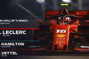 Gp di Singapore di F1. La pole di Charles Leclerc nel video commento post qualifiche di Paolo Filisetti