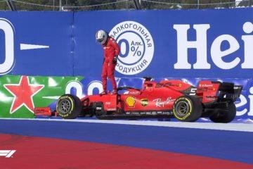 Gp di Russia a Sochi, doppietta Mercedes e doccia fredda per la Ferrari